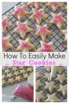 How To Easily Make Star Cookies