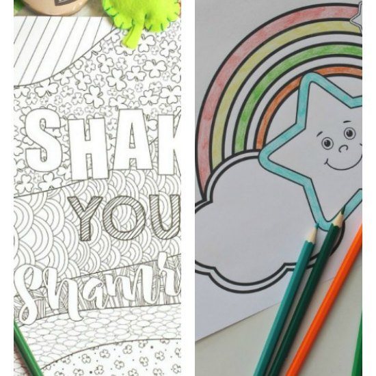 St Patricks day coloring pages kids will love