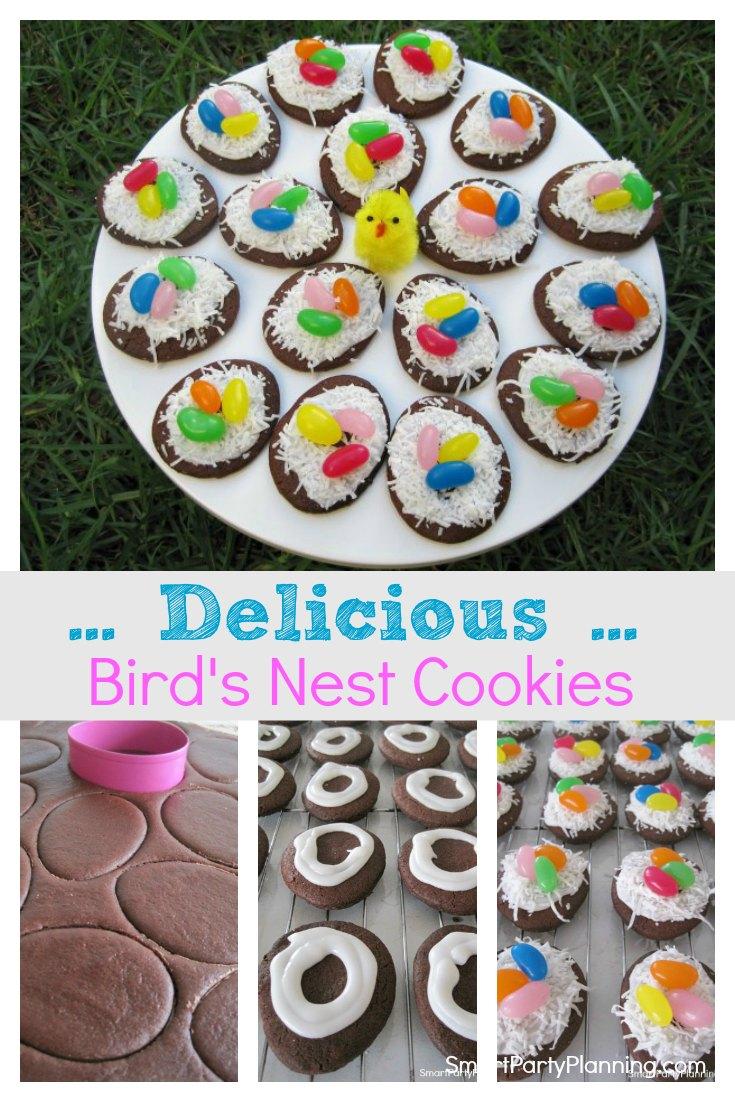 Easy Delicious Birds Nest Cookies