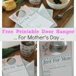 Free Printable Door Hanger For Mothers Day