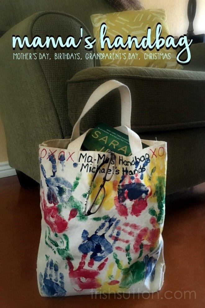 Handprint bag