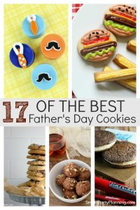 17 of the best Fathers Day Cookies