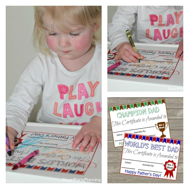 Fathers Day Certificates Free Printables