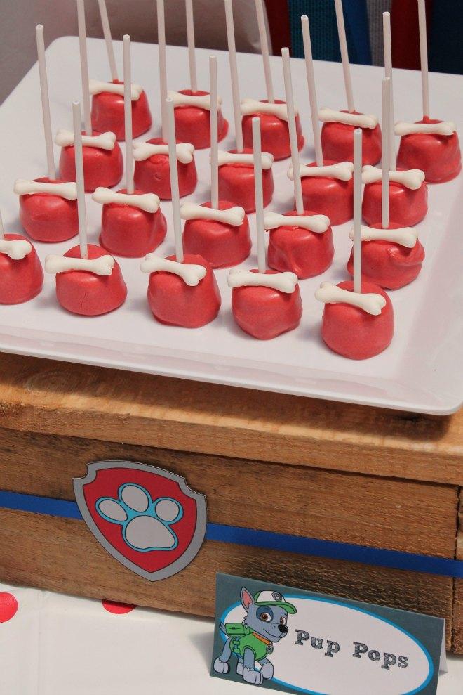 Paw Patrol Marshmallow Pops