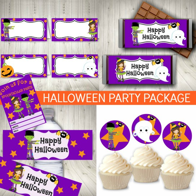 Halloween Party Printables Package