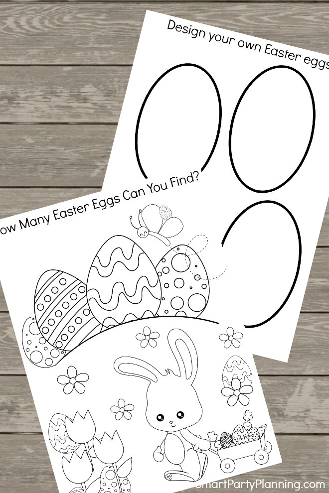 Easter Activity Printable Worksheets