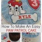 How to make an easy Paw Patrol cake