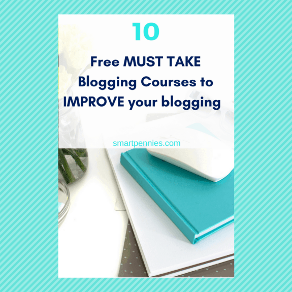 FREE blogging courses to help reach your blogging goals
