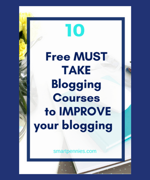 10 Fantastic FREE blogging courses to help reach your blogging goals today