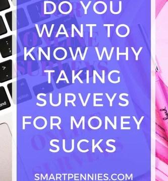 Why Taking Surveys for money Sucks!