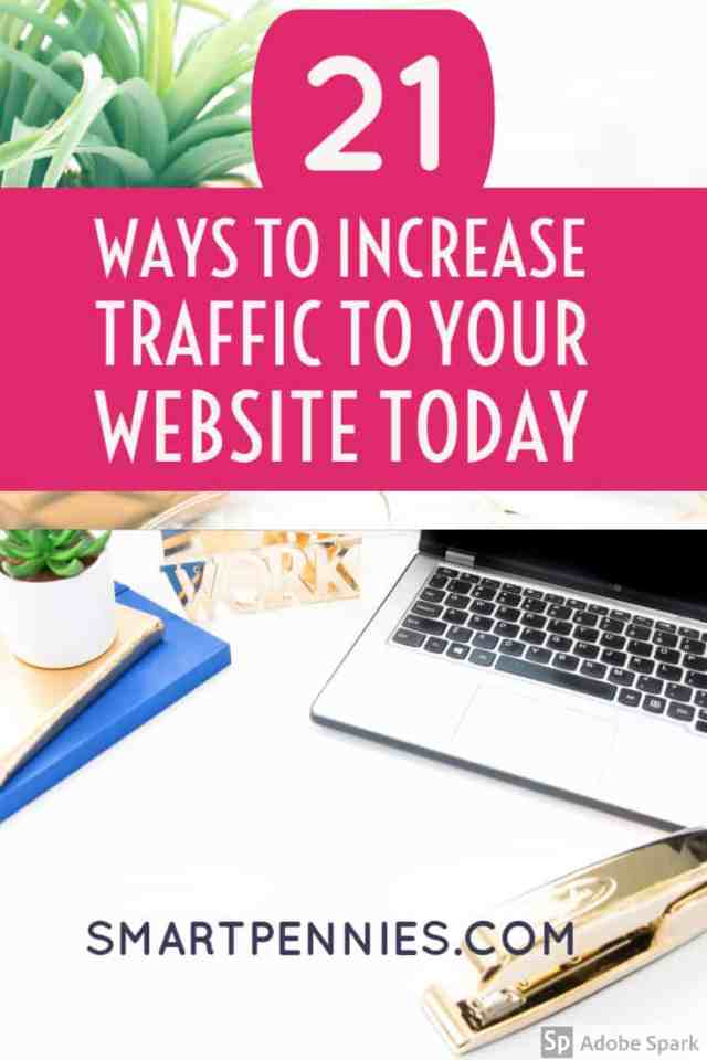 If your traffic is not increasing then check out this blog post. Free tips to increasing traffic to your website today.