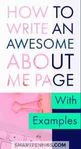 Find out how you to can create a killer ABOUT ME page including examples to help you out. If you need fresh ideas to help you create an Awesome About me page then this post will help you out with great tips.