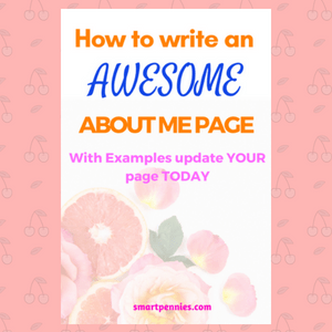 How to Create the Perfect about me page including Examples - Blogging Lifestyle DIY & Crafts