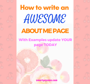 How to Create the Perfect about me page including Examples