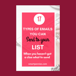 17 types of emails to send to your subscribers
