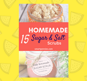 15 Easy DIY homemade sugar and salt scrubs