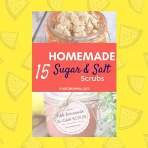 15 Top Homemade DIY Sugar and Salt Scrubs