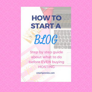Start a Profitable blog : The right way with Siteground