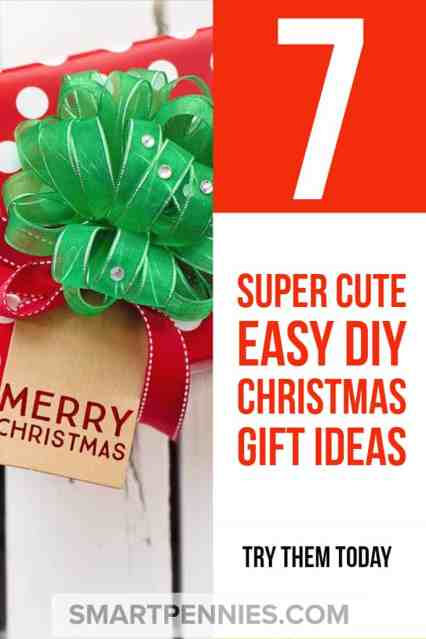 DIY Chritstmas gift ideas