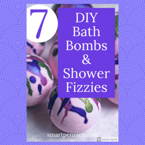 7 Fantastic smelling DIY Bath Bombs & Shower Fizzies recipes