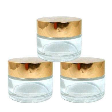 glass jars for solid perfume
