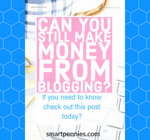 Can you still make money from blogging?