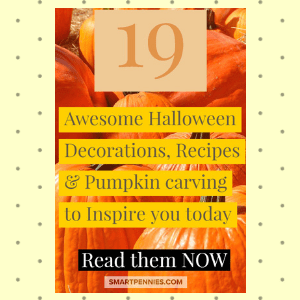19 Awesome Halloween Decoration Recipes & Pumpkin carving to Inspire you today - Blogging Lifestyle DIY & Crafts