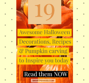19 Awesome Halloween Decorations, Recipes & Pumpkin carving to Inspire you today