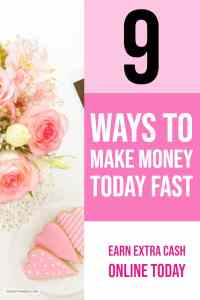 How can you make money fast? if you are looking for ways to earn extra cash then this post can show you 9 possible ways to make money fast from home today.