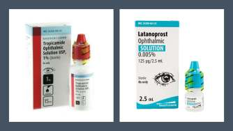 Tropicamide and Latanoprost