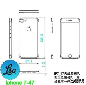 iphone7は薄型ではなく、厚くなる!