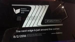 Galaxy Note7は8月2日発表!