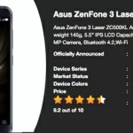 ZenFone3シリーズにZenFone 3 Laserが追加?