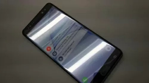 Galaxy Note7のプロトタイプ画像