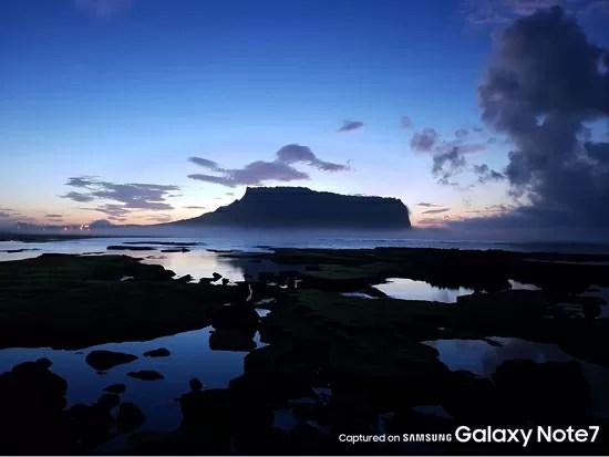 Galaxy Note7公式カメラサンプル