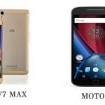 Blade V7 Max VS Moto G4 Plus比較!どちらが買い?