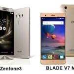 Zenfone3とBLADE V7 MAXを比較!どちらが買い?