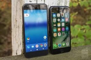 Google PixelとiPhone7 比較まとめ