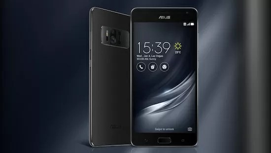Zenfone ARのスペックと発売