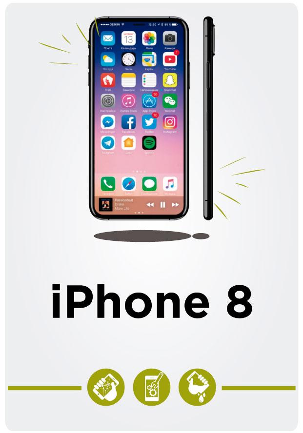 Reparación de iPhone 8