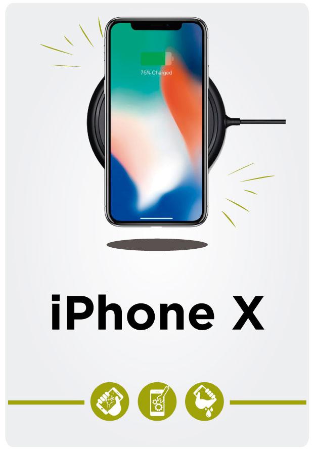 Reparación de iPhone X