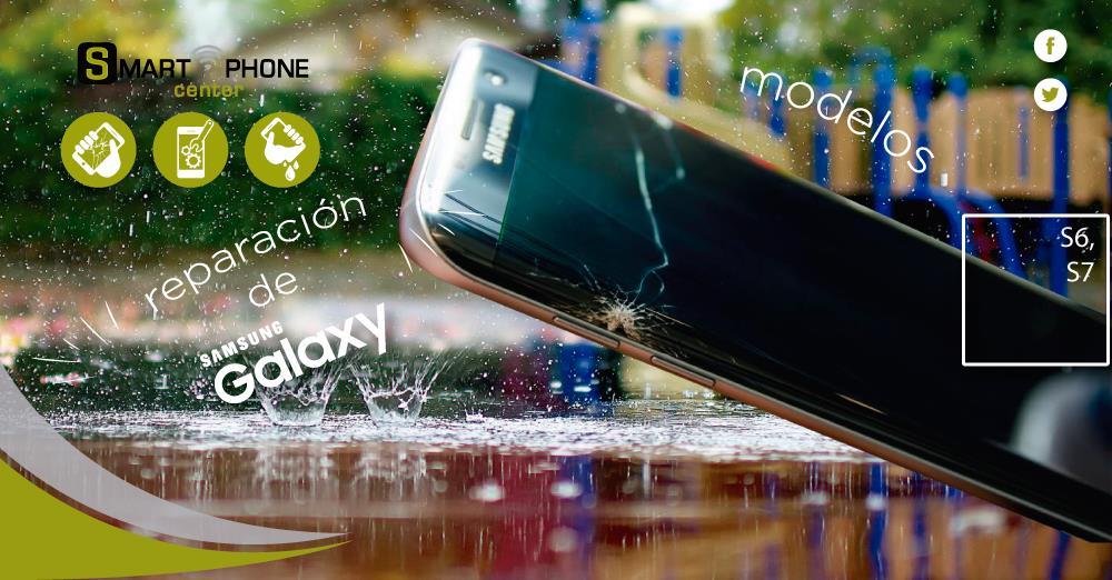 Samsung Galaxy estrellado o mojado ? – SMARTPHONE center