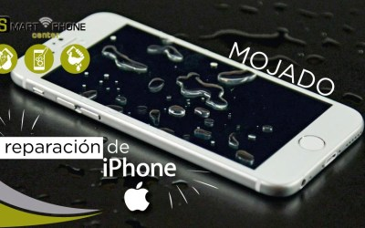 ¿Tu iPhone se mojó? Lo reparamos