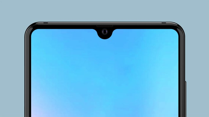 Huawei Mate 20 Notch Waterdrop