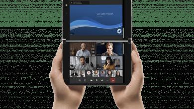 Microsoft Surface Duo Teams