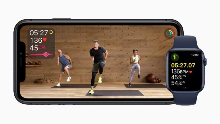 Apple Fitness+ iPhone