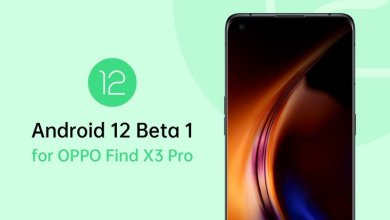 Oppo Find X3 Pro Android 12-Beta