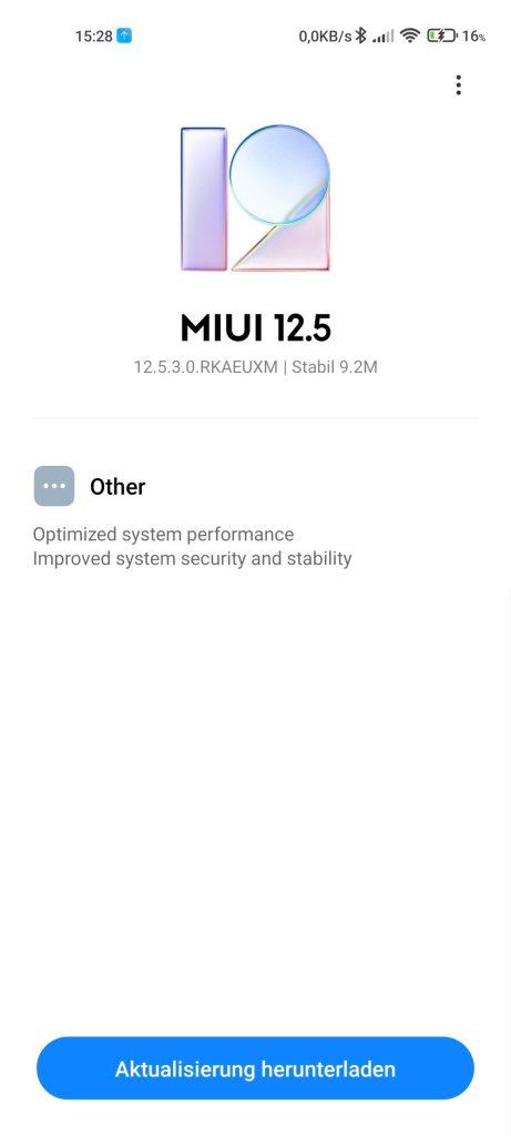 Xiaomi Mi 11 Ultra MIUI 12.5.3-Update