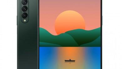 Samsung Galaxy Z Fold3 Renderings