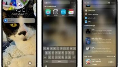Apple iOS 15 Spotlight Sperrbildschirm-Suche